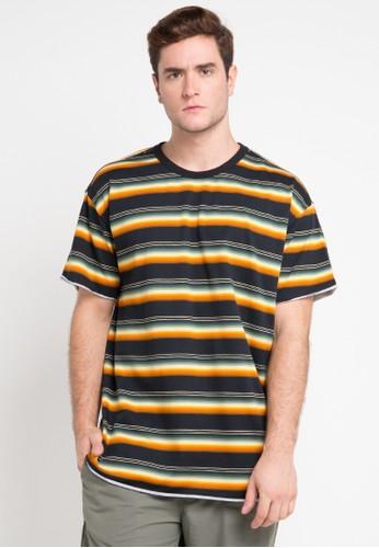 hurley multi Serape Knit T-Shirt 50F8AAA7366C85GS_1
