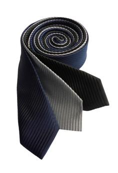 Solid Stripe Slim Necktie Combo 1