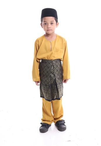 Denai Boutique yellow Baju Melayu Anas 44C50KA51B5B4AGS_1