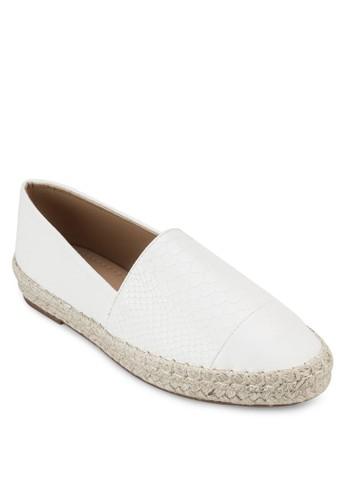 暗紋麻編懶人鞋, esprit outlet 高雄女鞋, 鞋