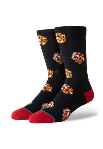 STANCE black STANCE Socks Black Tigris Large BB5D8AA7EAFF7DGS_1