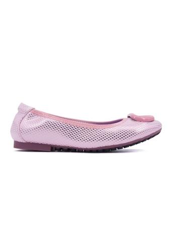 Flatss & Heelss by Rad Russel pink Chic & Comfort Flats-Pink FL655SH0GQACSG_1