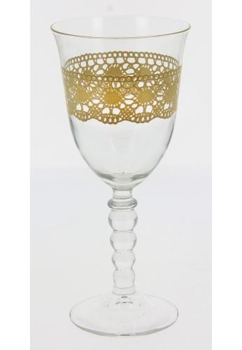 Cerve Cerve 270ML 6 Pcs Glass Stem / Glass Set / Wine Glass Set - Macrame' Beige F2E55HL13AB138GS_1