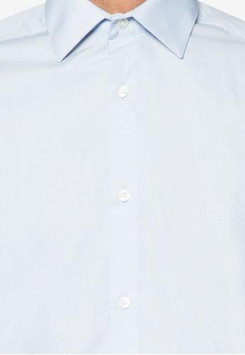 修身長袖襯衫, 服飾esprit outlet 家樂福, 素色襯衫