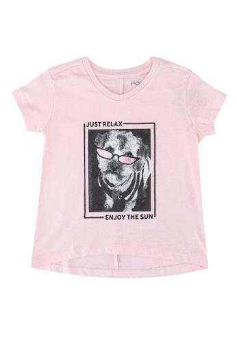 FOX Kids & Baby pink Kids Girls Short Sleeve Tee D217FKA5D56F56GS_1