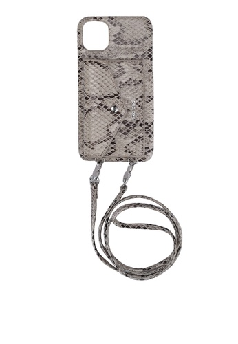 niko and ... grey Strapped Iphone Case 70059AC170C25DGS_1