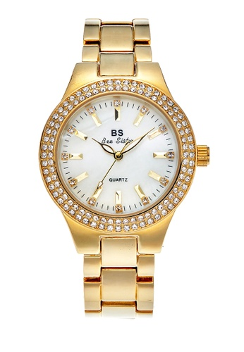 Bee Sister gold Japan Design Japan Movement Bee sister Watches D90EAAC30A6EB8GS_1
