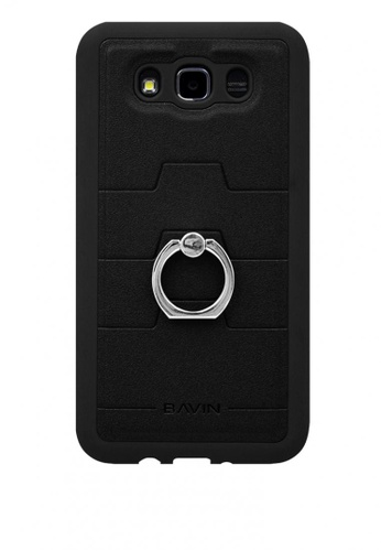 BAVIN black Mobile Leather Cover with Ring Holder Stand for Samsung J710 EEA35ACB70B906GS_1