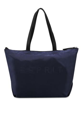 Esprit navy Tote Bag A1FE8ACFBA4E53GS_1