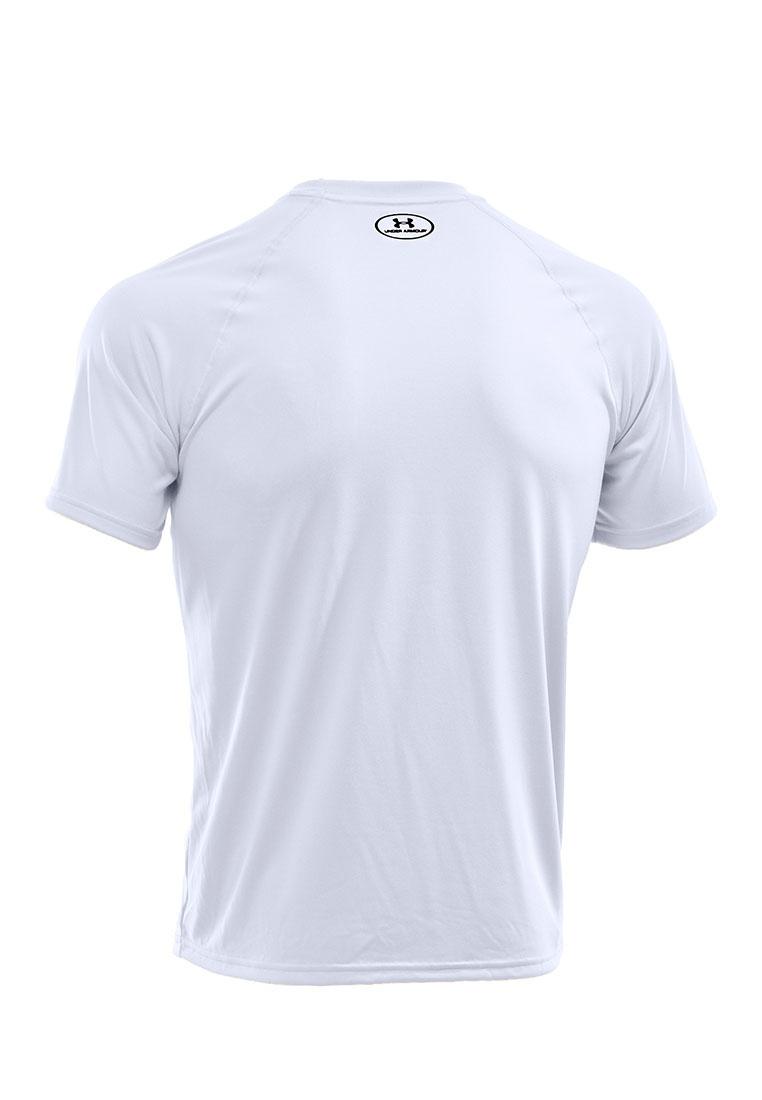 Black Tech Armour Sleeve UA Under Short White Tee dBqOd0Rwx