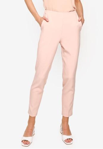 FORCAST pink Julianne High Waisted Pants 83815AA3F852BFGS_1
