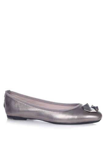 Butterfly Twists silver Kate Flats 72E9ESH77AD035GS_1