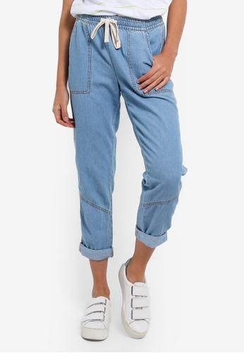 Cotton On blue Rolled Hem Chino Pants 919D8AA32CA4CBGS_1