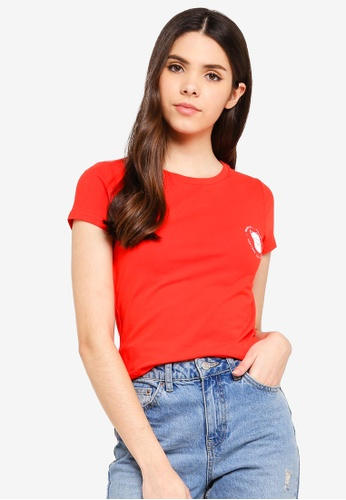 Cotton On red Tbar Hero Graphic T-Shirt 0DAE2AA569E547GS_1