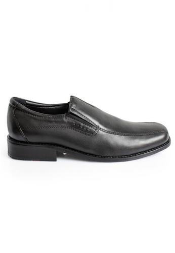 Gino Mariani black Gino Mariani Men's Leather Shoes DAGO 7  - BLACK F0040SH8B57207GS_1