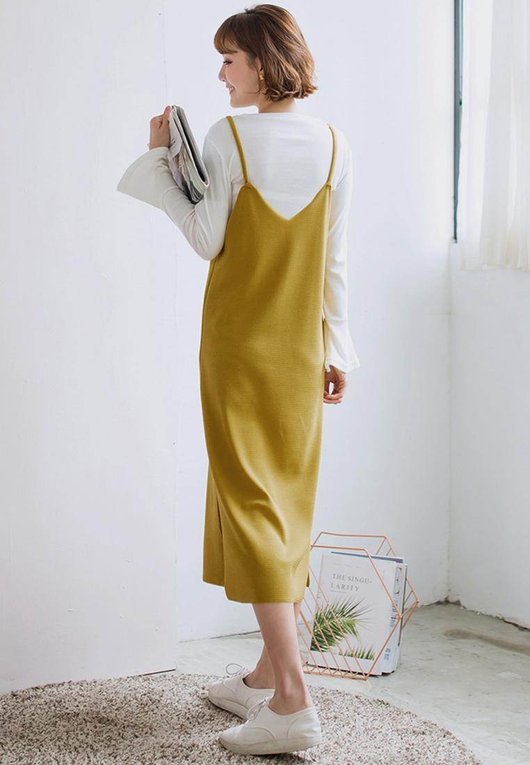 Two Yellow Dress Tokichoi Piece Pinafore qpRwBqA
