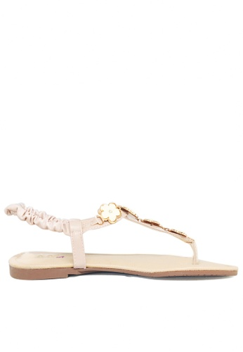 Twenty Eight Shoes pink Edelweiss Sandal TW446SH95WFSHK_1