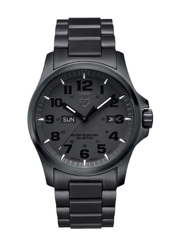 Luminox black Luminox Atacama Field Blackout Stainless Steel Watch 3C840ACC2B3B58GS_1