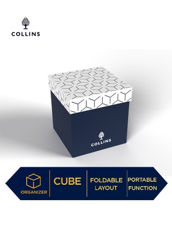Collins blue Collins 10-Cube Office Organizer Geo  ─  Lifestyle Products Collection  ─ Navy 16D82HLEB48837GS_1