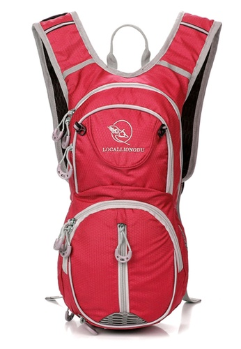 Local Lion Local Lion Lightweight Casual Daypack Cycling Backpack ODU 12L (Red) LO780AC07YNOMY_1