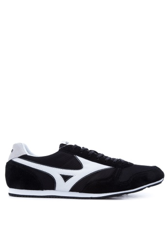 Mizuno black and white RS 88 Sneakers MI197SH64UCTPH_1
