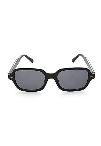 Hamlin black Mackenzie Kacamata Trendy Square Frame Sunglasses UV400 Material PC ORIGINAL 0DE4CGLBD78FC7GS_1