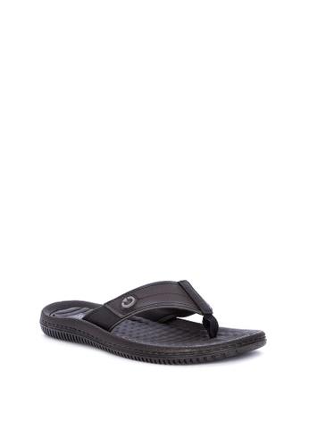 Cartago black Fiji IV Dedo Ad Flip Flops 2C6A2SHB1462CBGS_1