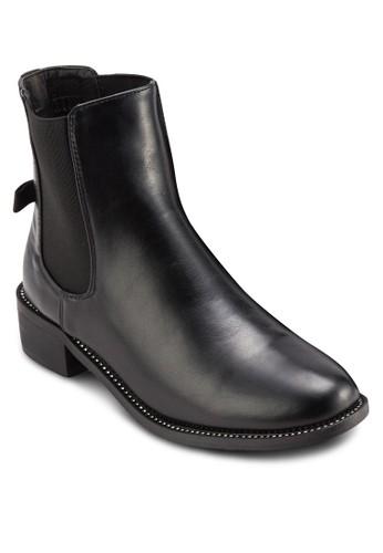 Crystzalora鞋al 側彈性帶短靴, 女鞋, 鞋