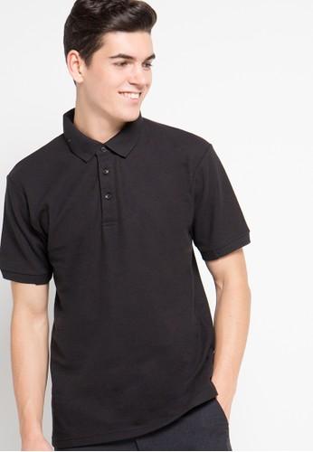 Contempo black Polo Shirt CO339AA16VLZID_1