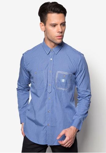 長袖襯衫,esprit門市 服飾, 印花襯衫