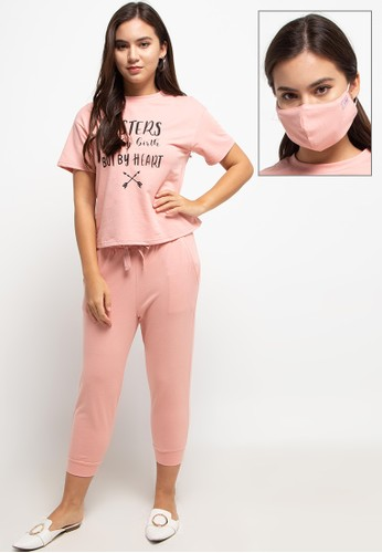 Exit pink Zaetta One Set With Mask 9A3F8AA9E0D786GS_1