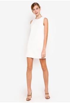 dccc0408497 Dressing Paula Panelled Suede Shift Dress RM 109.90. Sizes S M L XL