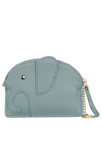 HAPPY FRIDAYS Zipper Leather Mini Wallet JN2161 48F51AC4B675EDGS_1