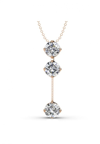Her Jewellery Dazzling Pendant (Rose Gold) -  Embellished with Crystals from Swarovski® 24EC1ACF22F47FGS_1