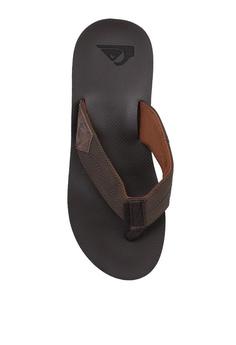 3cf94ade815c Quiksilver Coastal Oasis Flip Flops S$ 59.99. Sizes 10 11 · Quiksilver black  Shoreline Adjust Slider Sandals DE899SHC6CCD8AGS_1