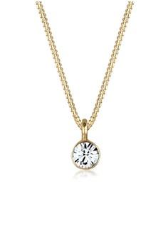 Bos 18k Kepribadian 925 Sterling Silver Cincin. Source · Elli Germany gold Necklace Swarovski®