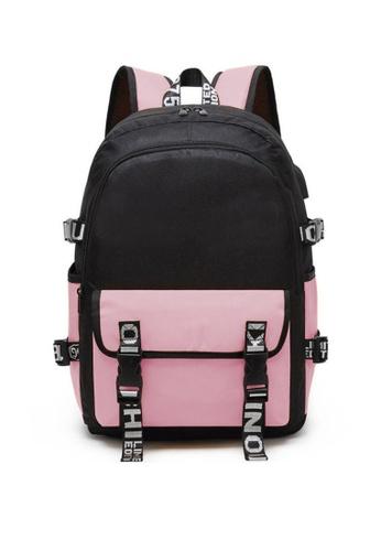 Twenty Eight Shoes pink VANSA Nylon Oxford Backpacks VAK-Bp9920 C0CB7KC13325B1GS_1