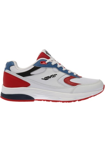 paperplanes white SNRD-714 Unisex Fashion Curved Sports Sneakers Shoes US Women Size PA355SH54PKNSG_1