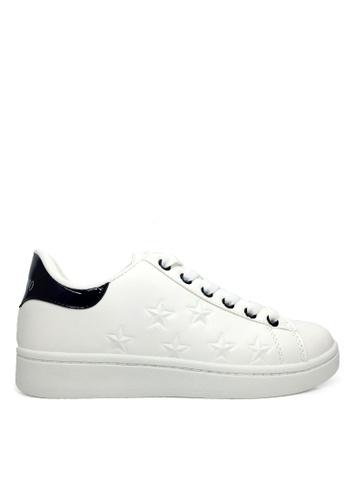 Twenty Eight Shoes Embossed Stars Sneaker VCH32 TW446SH2UVITHK_1