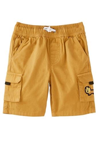 Du Pareil Au Même (DPAM) brown Brown Bermuda Shorts 508C1KA91550C8GS_1