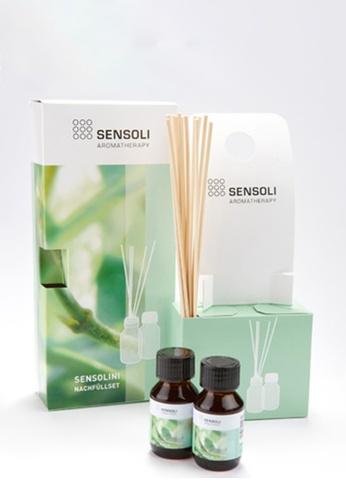 Sensoli Aromatherapy Sensolini Reed Diffuser Refill Set 2 x 50ml E99A8HL1E9F29CGS_1