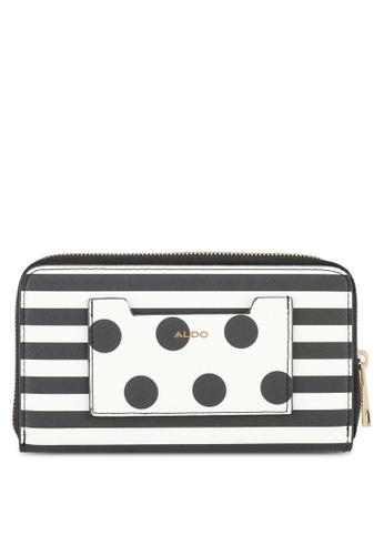 ALDO black and white Panno Wallet 6A1A9ACFF0412DGS_1