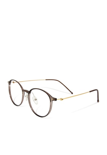 ASLLY multi and gold and brown Seine│Anti-blue light glasses with TR90 frame C3065GL584FEDBGS_1