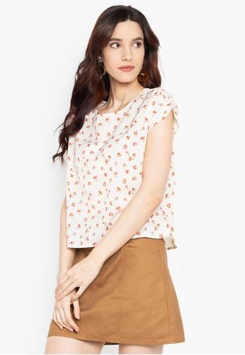 5cdbd03cab2 Shop ForMe Floral Print Blouse Online on ZALORA Philippines