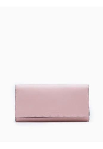 Calvin Klein pink Long Flap Wallet 62E5FAC00288A6GS_1