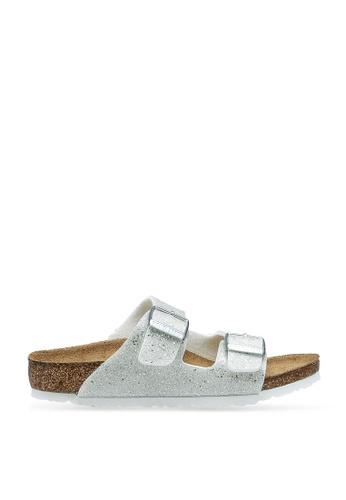 Birkenstock white Arizona Kids BF Cosmic Sparkle Sandals 470F4KS7093E4AGS_1