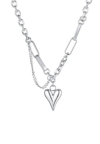 CELOVIS silver CELOVIS - Courtney Love Double Layer Necklace in Silver E1C67AC075E144GS_1
