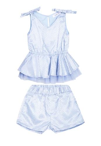 Great Kids blue Peplum Top and Shorts Set E5EE4KA8E4DAA0GS_1