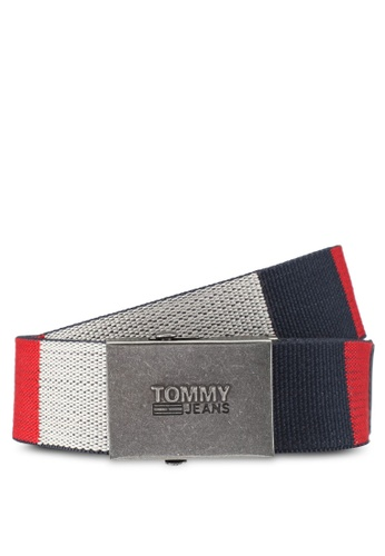 Tommy Hilfiger multi THD BLOCK WEBBING BELT 4.0CM TO729AC0H7CBSG_1