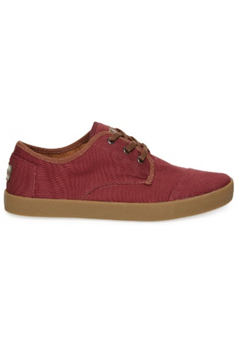 TOMS multi TOMS - Paseo Oxblood Twill MN TO818SH53FJMMY_1